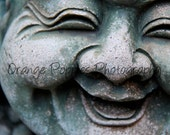 Laughing Buddha Statue Photograph *choose your size*