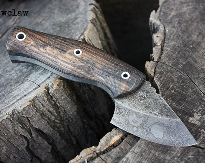 """Handcrafted FOF """"Dewclaw"""" Hunting and Survival Knife"""