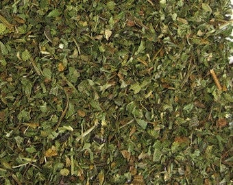 Peppermint Cut Leaves, Medicinal Herb, Herbal Remedies, Dried Herb