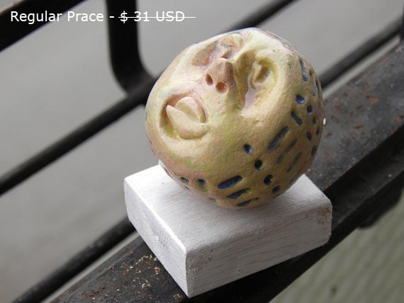 Ceramic Head, Ceramic sculpture, Sculpture of  a head, Porcelain head ,  Head figure, Head, Head statue, Porcelain figurine