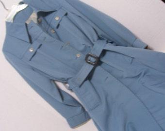 Sale Take Additional 20% Off Women's Overcoat  Trench Coat Raincoat  Blue Forecaster of Boston