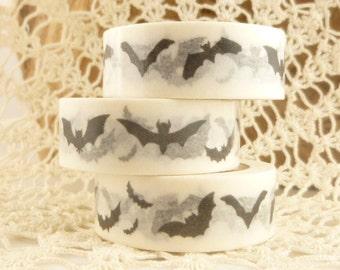 Black Bat Washi Tape - 2143