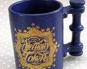Vintage Retro Port Meirion Love of Friendship Mug Designed by Susan Williams-Ellis England