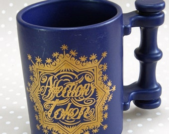 Vintage Retro Port Meirion Love of Friendship Mug Designed by Susan Williams-Ellis England