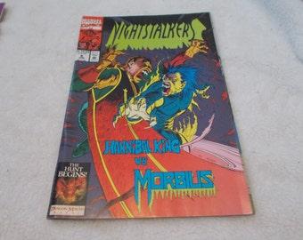 Vintage comic Book- Nightstalkers No 8-June 1993