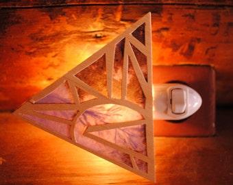 Triangle Night Light