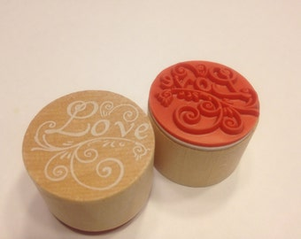 Love rubber stamp, 25 mm (A11/1)