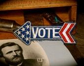 Vintage Vote Arrow Patch