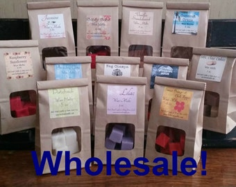 12 Pack Wholesale Scented Wax Melts, 3 oz. Bags, Bulk Wax Tarts, Choose Your Scents