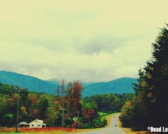 Up Hill- Photo Print