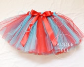DR SUESS INSPIRED Ribbon Tutu - Sizes Newborn to 5t