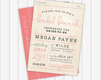 The Megan • Bridal Shower Invite | 5x7 | Double Sided