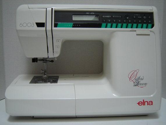 elna sewing machine part