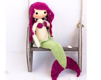 Knitting pattern mermaid Etsy UK