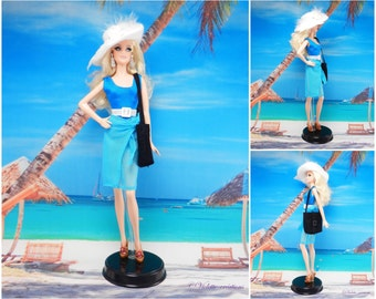 1 piece swimsuit barbie doll