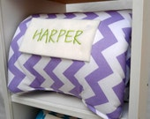"Cubbie Nap Mat Kindergarten Preschool Daycare Pillow Pad Rest Time Sleep Rug Blanket Toddler School Supplies Personalization 21"" x 45"" x 1"""
