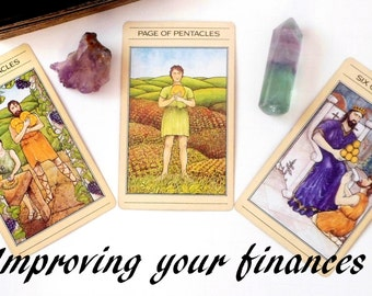 Financial Planner Tarot Reading, Tarot Card Reading for Finances, Psychic Reading w Advise Cards, Same Day Reading by Clairvoyant Life Coach