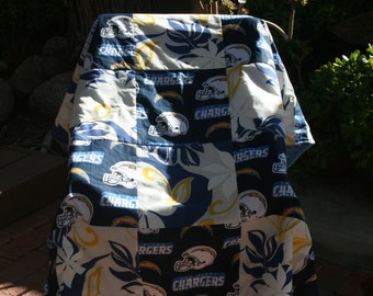 Chargers Blanket Etsy