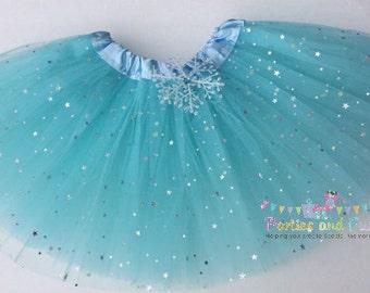 Frozen Tutu, Frozen Costume, Elsa Tutu, Snowflake Tutu, Elsa Costume, Frozen Party, Frozen Birthday, Elsa Costume, Frozen Party favors