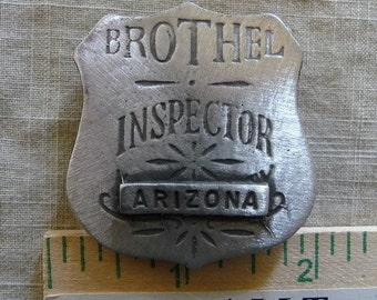 Arizona brothel Badge