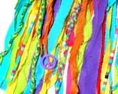 Peace & Rainbows Dreamcatcher