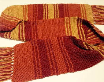 Pretty Cunning Doctor Who Scarf - Doctor Who Season 18 Tom Baker Scarf, Firefly Variation