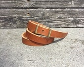 "SALE // 0.75"" Bridle Leather Conway Belt for Women"