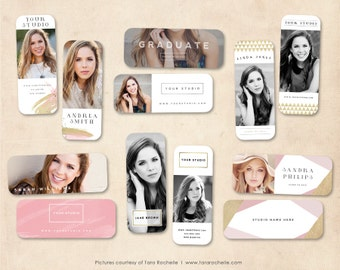 Senior Rep Cards, Senior Template, Senior rep card template, rep cards, senior referral card, senior photoshop template, college rep card