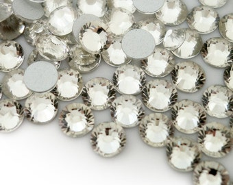 1440pc High Quality Flat back Crystal Rhinestones 4mm Clear White SS16