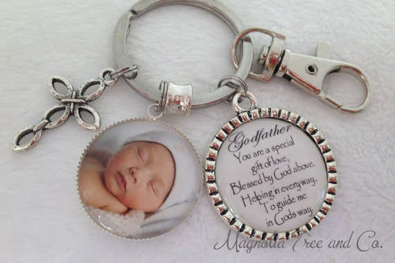GODFATHER, GODMOTHER, Personalized Gift Godparents, Christening gift, Baptismal Gift, Godparents, Keychain, Necklace, A Special Gift, M14