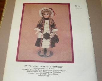 Byron Doll Pattern BY 170  Uncut 27 inch doll