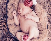 Baby Barefoot Sandals - Baby Sandals - Baby Shoes - Infant Sandals - Flower Baby Sandals -  Toddler Barefoot Sandals