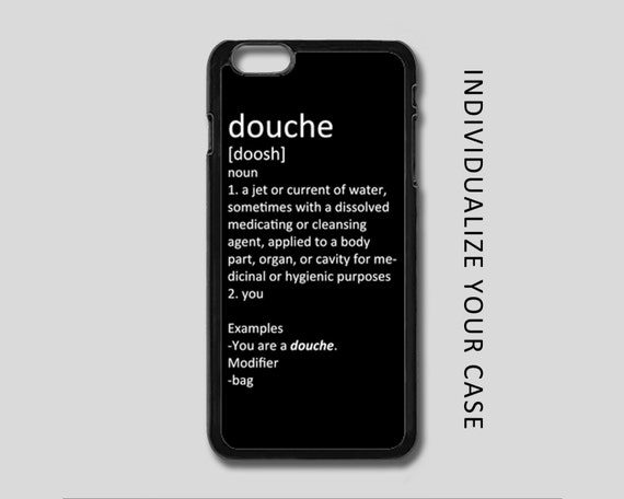 Association De Couleur Avec Le Rouge : Douche Definition iPhone Case Dirty iPhone Case by XDDesigns