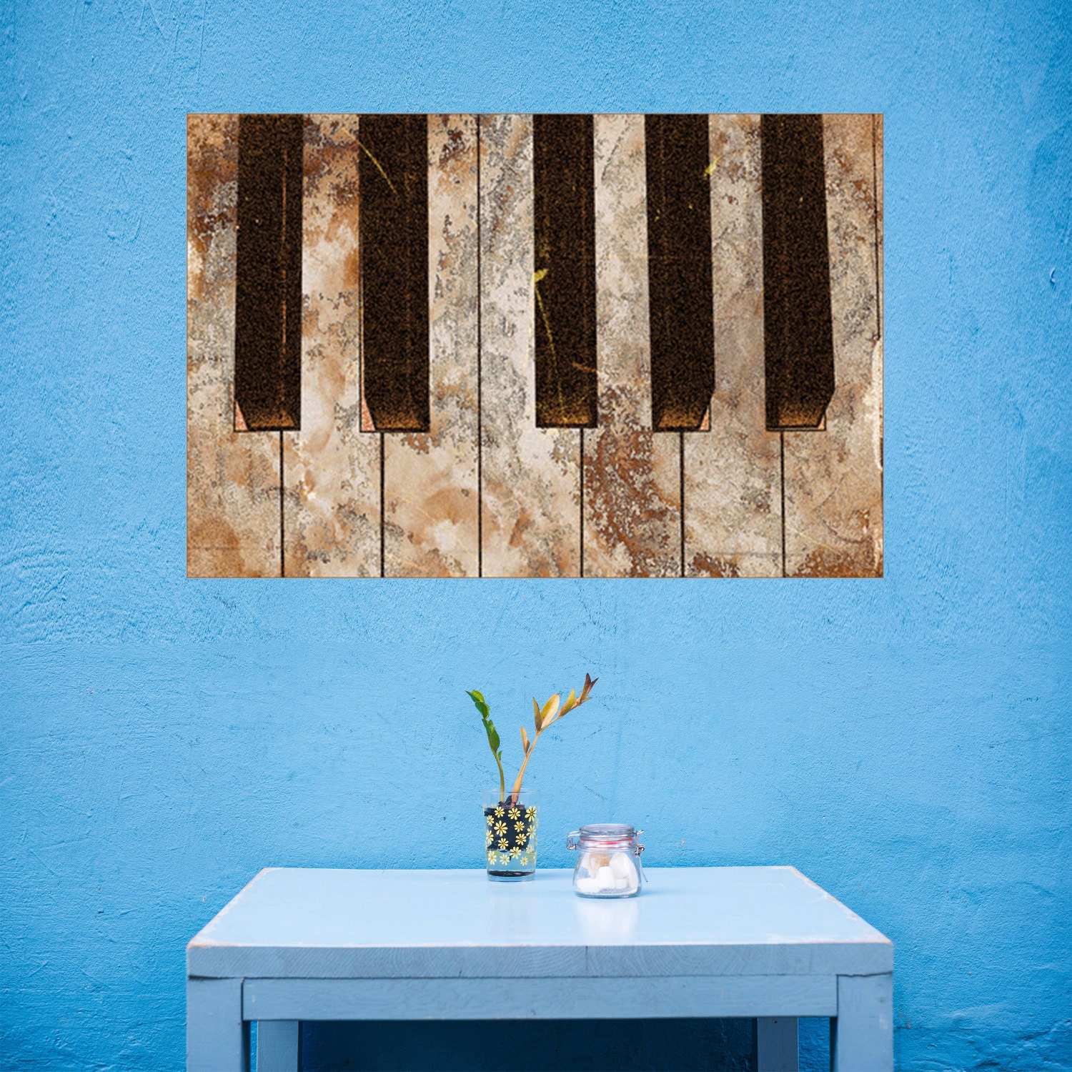 Wall Art Canvas Music