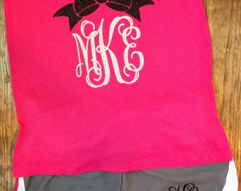 Monogrammed Tank and Shorts Set