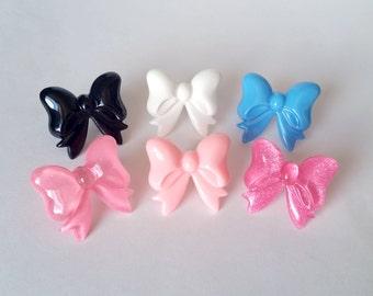 Fancy Bow Adjustable Ring - Kawaii Ring Kawaii Jewelry Fairy Kei Ring Fairy Kei Jewelry Fairy Kei Fashion Sweet Lolita JFashion