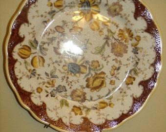 2-pc set Vintage Decorative Plate by Accent Since 1893