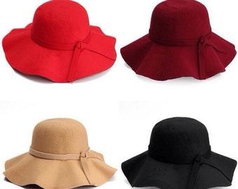RTS - girl toddler floppy hat