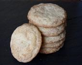 Snickerdoodle Cookies, homemade cookies, baked goods