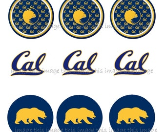 Downloadable UC Berkeley One Inch Circles