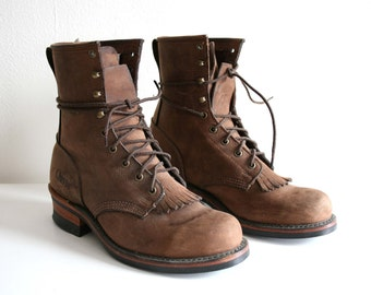 Orvis Lace Up Boots 9.5