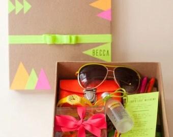 Neon Bachelorette Box
