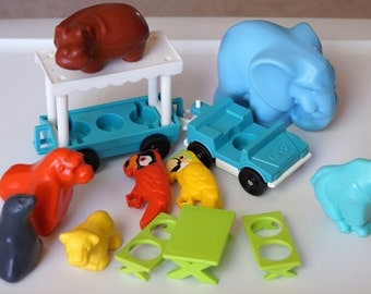 Fisher Price Little People Zoo Pieces