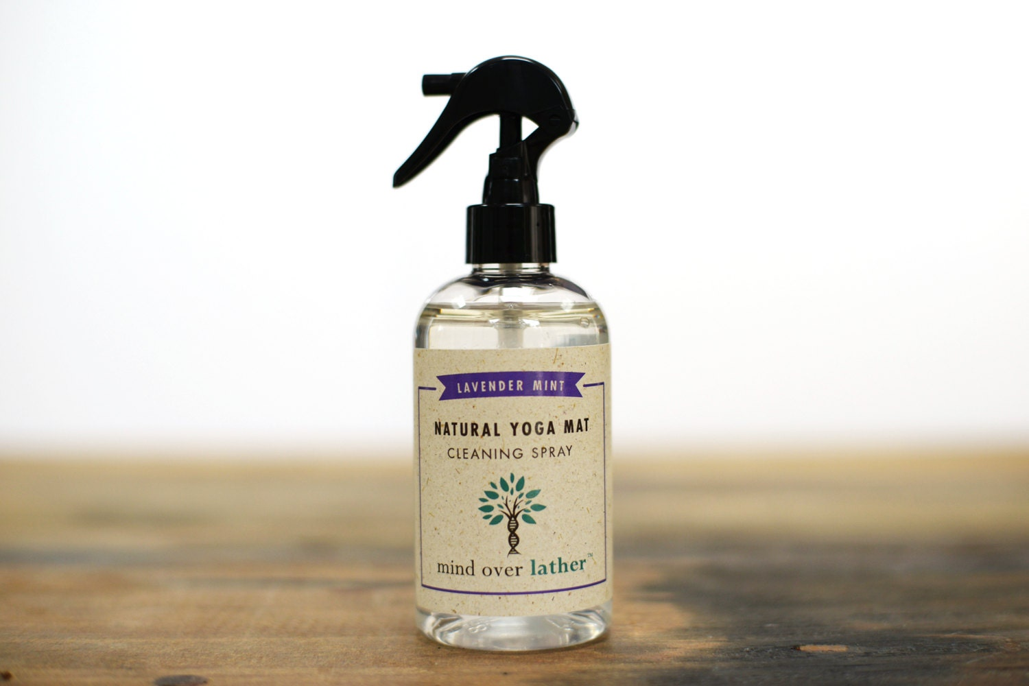 Lavender Mint Natural Yoga Mat Cleaner 8oz