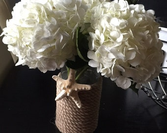 Rustic nautical vase