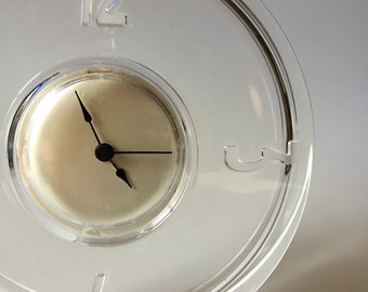 Mid Century Glass Clock