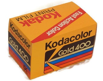 Kodacolor Gold 400 Vinatge Shop Display Box