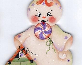 Lollipop Ghost Painting E-Pattern