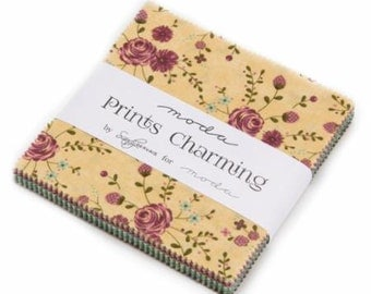 Prints Charming Charm Pack by Sandy Gervais for Moda