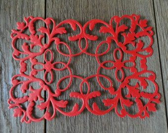 """Anna Griffin Flourish Emblem Die Cut Set of 6 """"Available in 17 colors!!"""" Mix and Match too"""